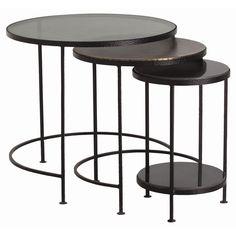 Arteriors   Yardley Nesting Tables, Set of 3