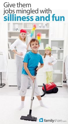 FamilyShare.com l Getting kids to do chores