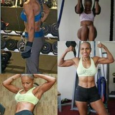 Ernestine Shepherd yo via @Kit Newton #ripped #fitness