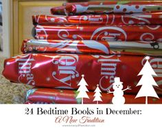 24 Bedtime Books in December: A New Tradition