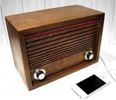 Ward Desktop Radio / Ward Electric #radio #gadgets #vintage