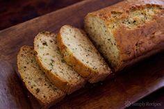 Lemon Rosemary Zucchini Bread Recipe | Simply Recipes