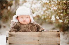 Children's Portrait Photographer, Baby Boy Portraits, Kids Snow Portraits
