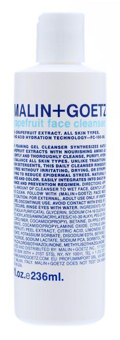 Malin Goetz face wash
