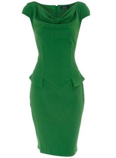 GREEN: mad men dress I have almost the same dress in blue