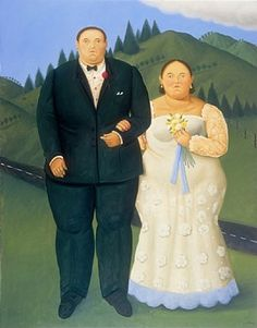 Country Wedding by Fernando Botero from Tasende Gallery