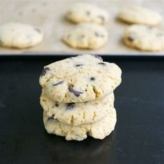 Coconut Flour Chocolate Chip Cookies #glutenfree #grainfree #paleo