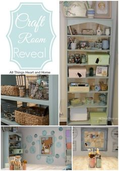 Craft Room / Office Reveal! #craftroomideas #craftroom #officereveal