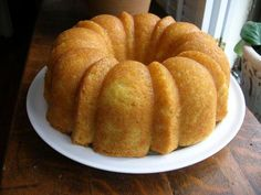 Southern Cooking  Kentucky Butter Cake