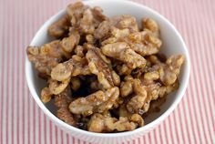 Vanilla Roasted Walnuts