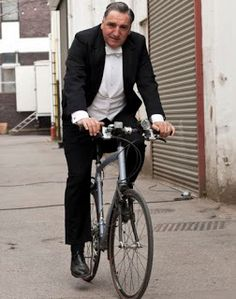 Downton Abbey Addicts: Join Downton Abbey's Jim Carter for a Bike Ride with 'Pedal On UK'!