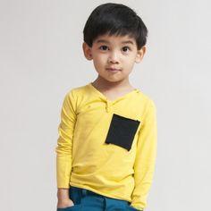 Black Pocket T