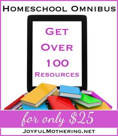 Come check out this fantastic homeschool bundle sale with 94 new titles. One week only -- entire bundle $25...that's only .25 per item!