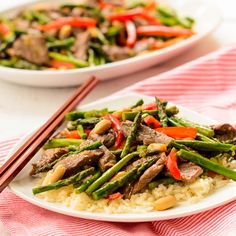 Steak and Asparagus Stir-Fry #WeekdaySupper