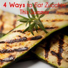 4 new zucchini recipes