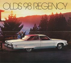 1975 Oldsmobile 98 Regency Luxury Coupe