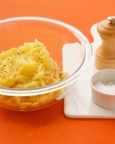Spaghetti Squash with Garlic - Martha Stewart Recipes