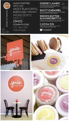 Love the branding/logo. Jeni's Splendid Ice Cream