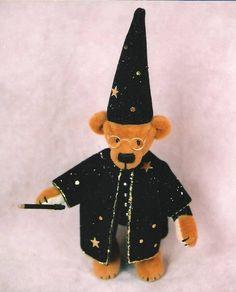 Miniature Teddy Bear by Megan Wallace - Tin Soldiers Studio