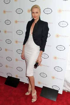 Charlize Theron hosts Africa Outreach charity event