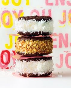 """See the """"Coconut and Almond Ice Cream Sandwiches"""" in our Ice-Cream Sandwiches: The Defining Dessert of Summer gallery"""