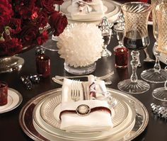 Retro Glam Table Setting