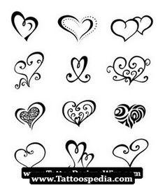 small tribal tattoos tattoo ideas, tribal tattoos, small tattoos, small heart, doodl, small hena tattoo, heart tattoos