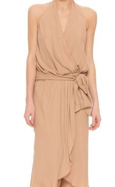 Haute Hippie Nude Dress | VAUNTE