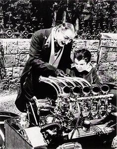 Grandpa and Eddie Munster