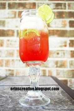 Erin's Creative Energy: Redneck Wineglass