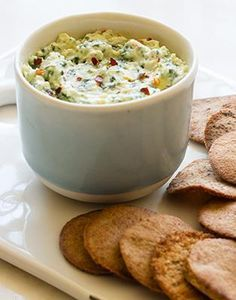 Kale & Artichoke dip just became your new favorite snack.