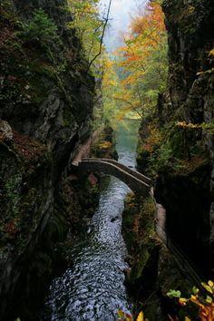 stone bridge, Switzerland