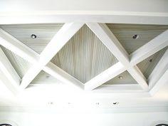 Coffered ceiling detail by Brock Builders