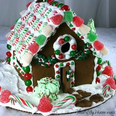 Christmas Gingerbread House - That's My Home