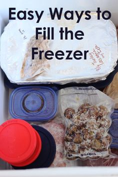 Use our fresh or frozen meats and cheeses + these great ideas and save your family time and money! freezer cook, recip cook, easi, fill, freezer meal