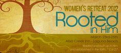 women's retreat...YAY!!