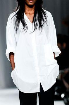 White shirt!