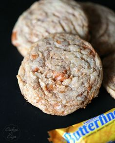 Butterfinger Cookies - Cookies and Cups