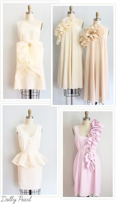 Dolly Pearl Dresses - Perfect for the Bride and her Bridal Party