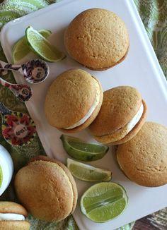 Key Lime Whoopie Pies | Cookies and Cups