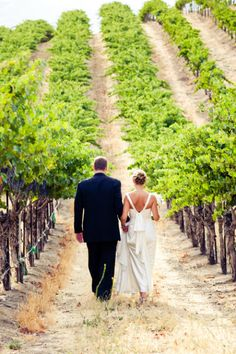 A Winery Wedding on http://itsabrideslife.com