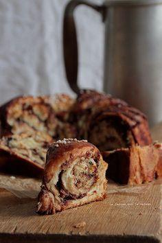 nutella marbled brioche