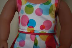 dress patterns, doll cloth, doll dresses, kati dress, american girl