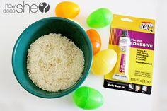 UPcycle Plastic Eggs   #howdoesshe #eastereggs #plasticeggs #craftswithplasticeggs #eastereggs #craftsforeaster #springactivities howdoesshe.com