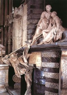 Death attacks! The Nightingale monument at Westminster Abbey. (Seeing Symbols)