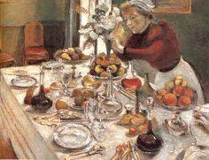 """""""The Dinner Table""""   Henri Matisse"""
