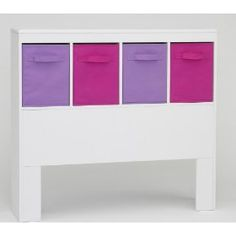 4D Concepts Girl`s Headboard, White $106.57