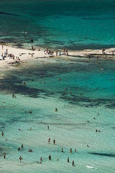Balos lagoon on the island of #Crete #Greece #kitsakis