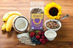 lydia organ, berri berri, organ berri, glutenfre food, gluten free, cereals, granola glutenfre, cereal breakfast, berries