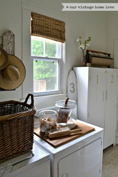 ENTRYWAY & LAUNDRY STORAGE on Pinterest